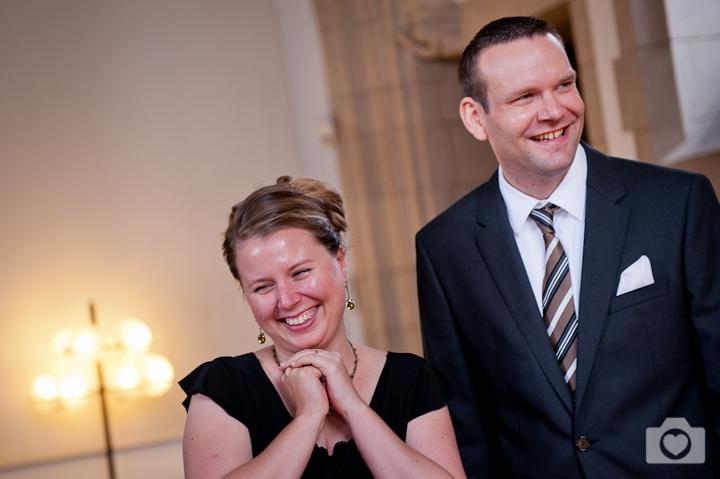 Yvonne & Markus | Standesamtliche Trauung in der Rentkammer im Rathaus Köln