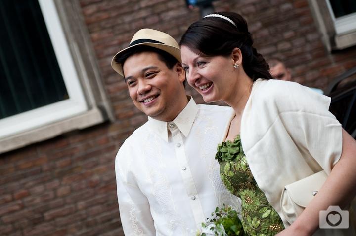 Kerstin & Dennis | Deutsch-Philippinische Trauung in der Rentkammer in Köln