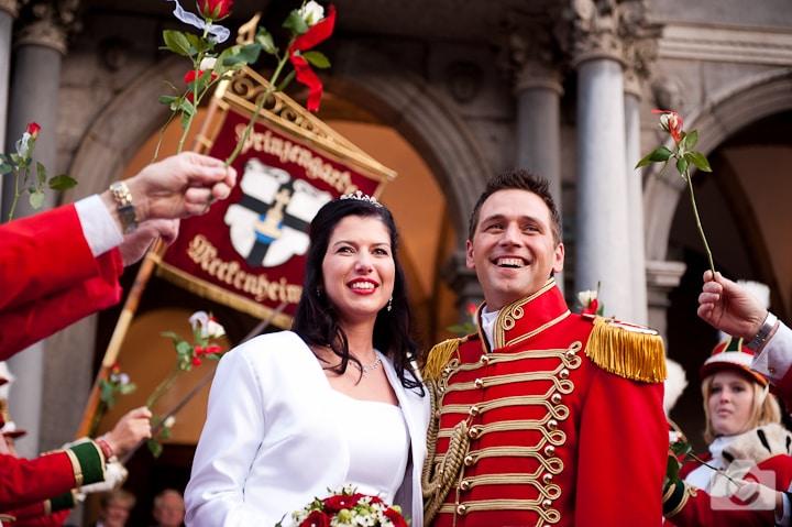 Sabrina & Sven | Hochzeit am 11.11.11 im Standesamt Köln
