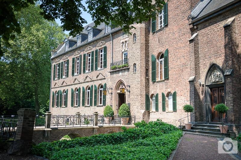 Hochzeit Burg Bergerhausen