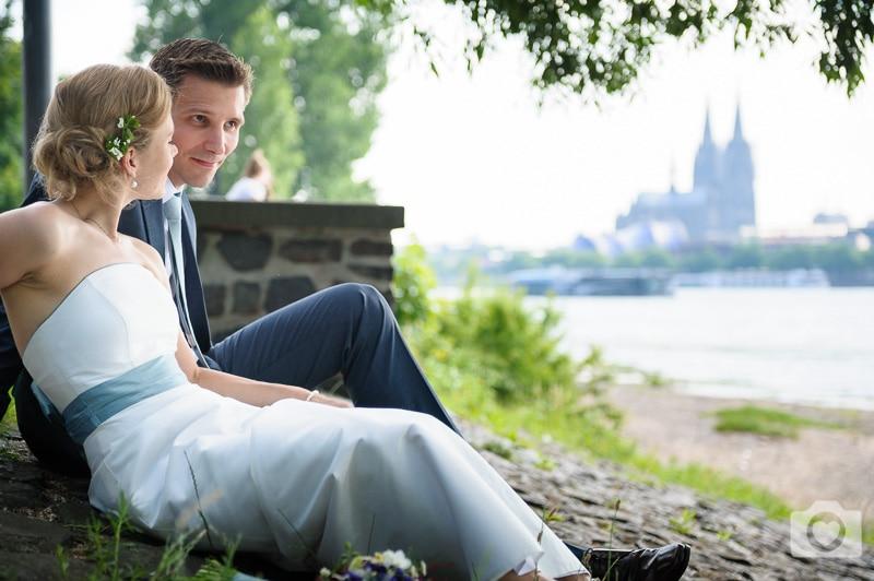 Anna & Christian | Ein Traumtag in den Rheinterrassen