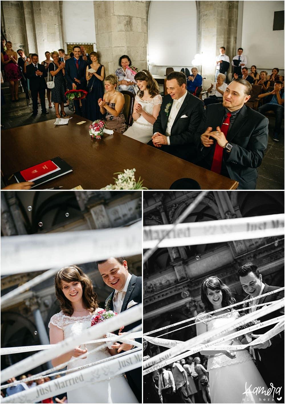 Moderne Hochzeitsfotos Srandesamt köln