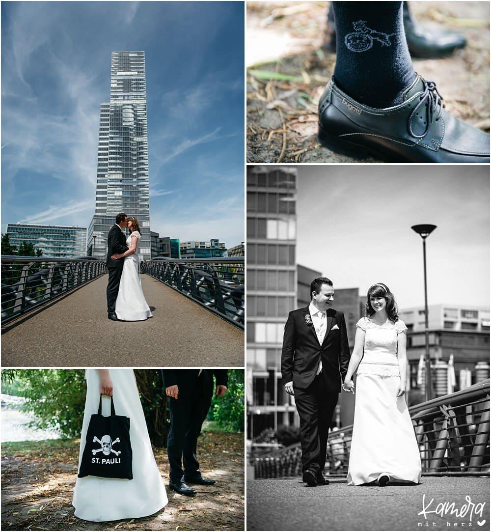 Moderne Hochzeitsfotos Köln