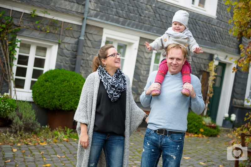 Familienshooting in Solingen