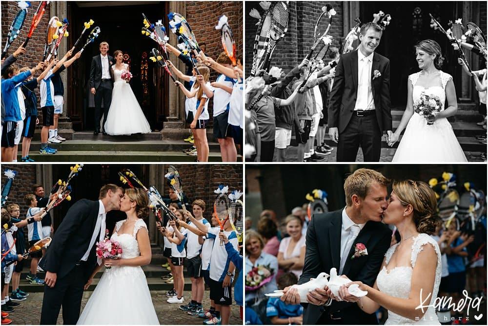Spalier Hochzeit Krefeld
