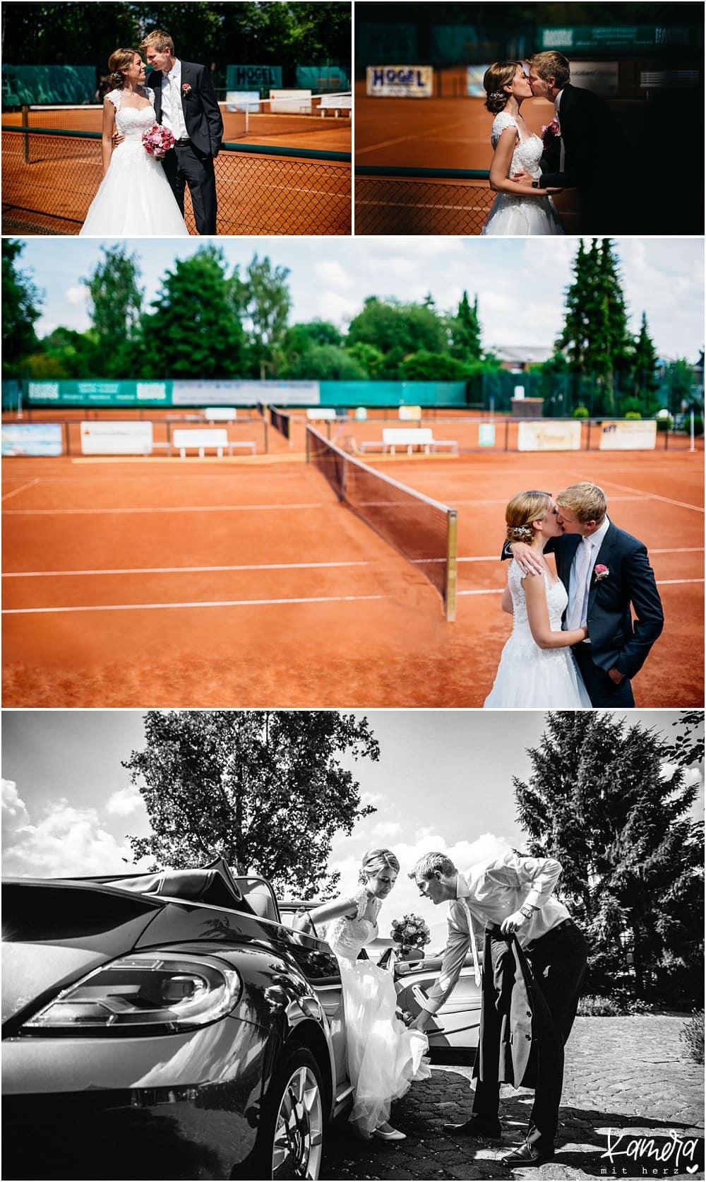 Paarshooting Tennisplatz Krefeld