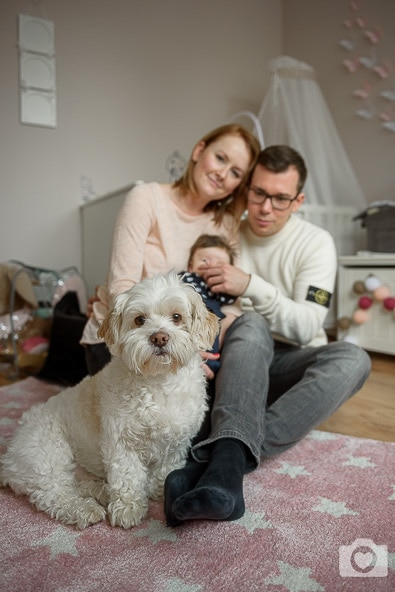 Familienfotos zuhause