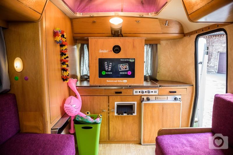 Kamera auf Achse - Photobooth im Wohnwagen
