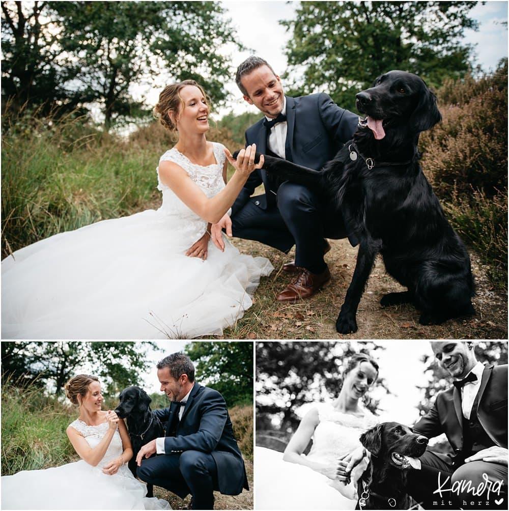 Ideen für Hochzeitsfotos Wahner Heide