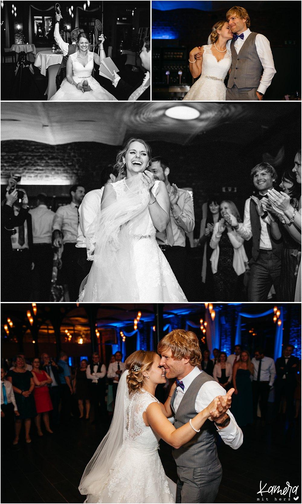 Feier der Hochzeit im Atelier Eupen in Belgien