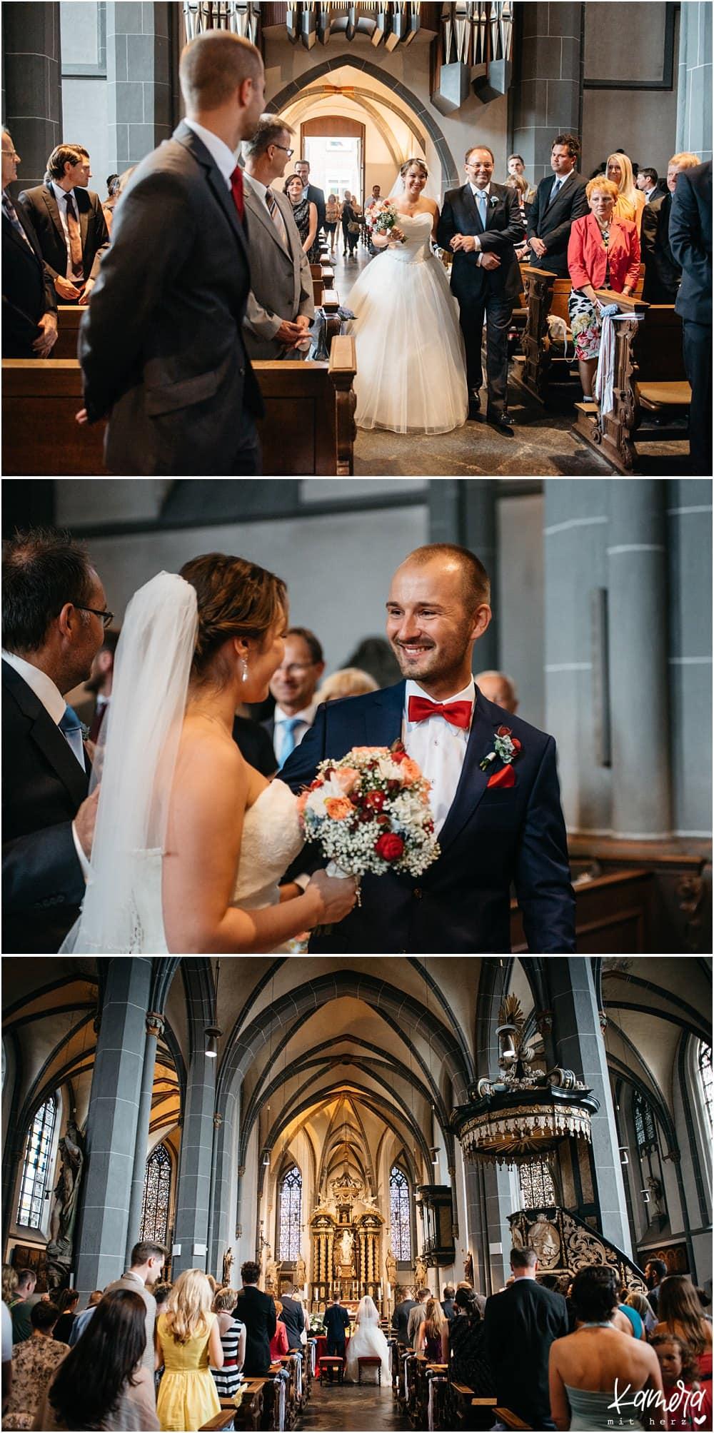 Hochzeit Düsseldorf Kirche