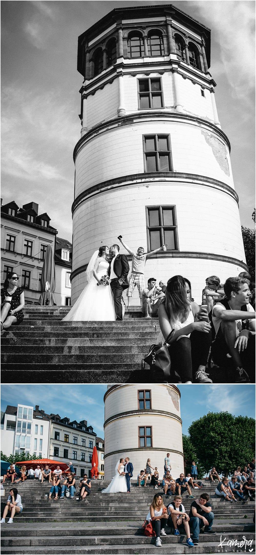 Paarfotos Düsseldorf Hochzeit
