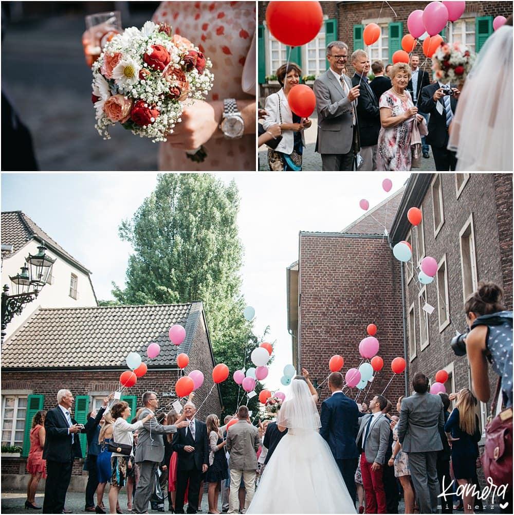 Hochzeitsfeier im Land Gut Höhne