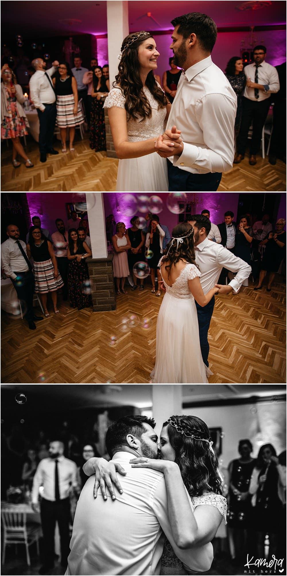 Hochzeitsfeier im Landgut Stüttem