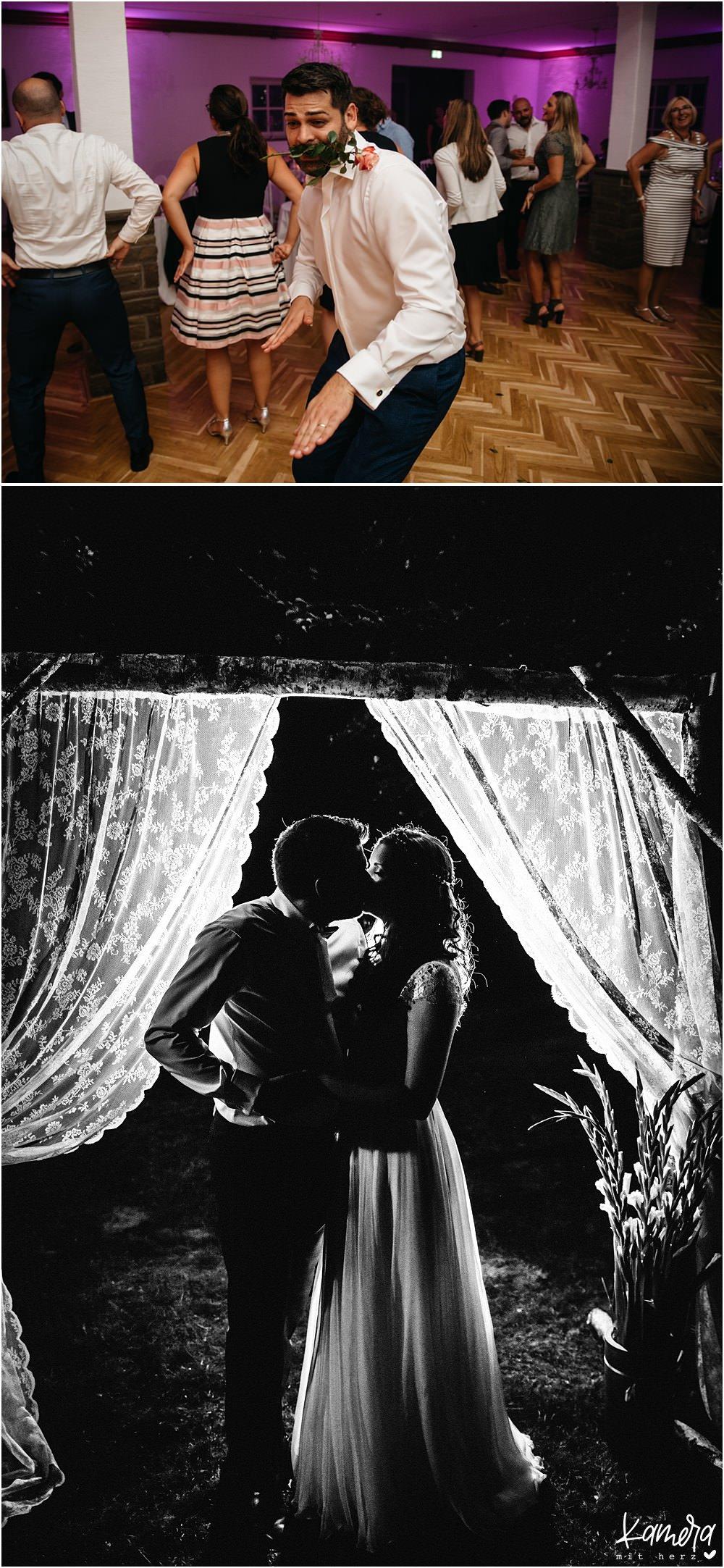Hochzeitsparty im Landgut Stüttem