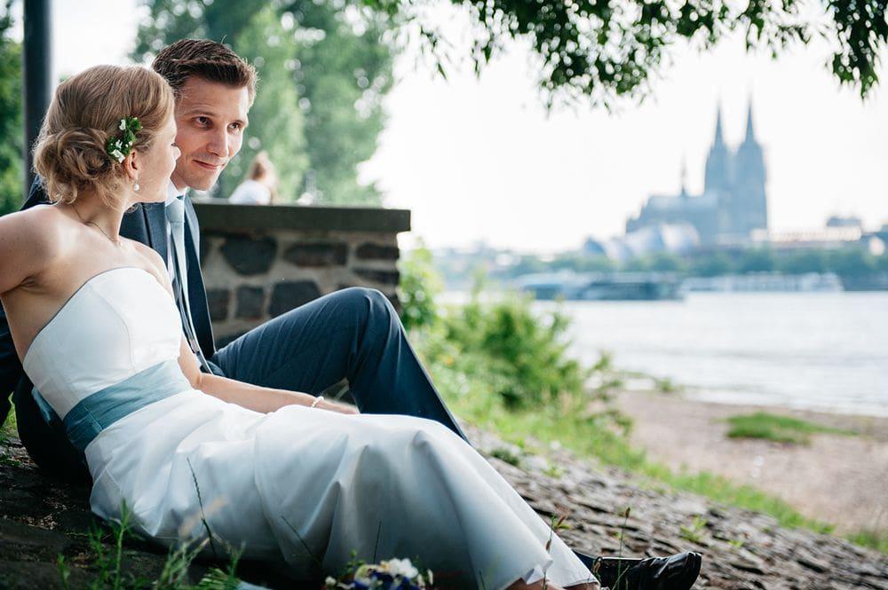 Hochzeit Rheinterrassen Köln