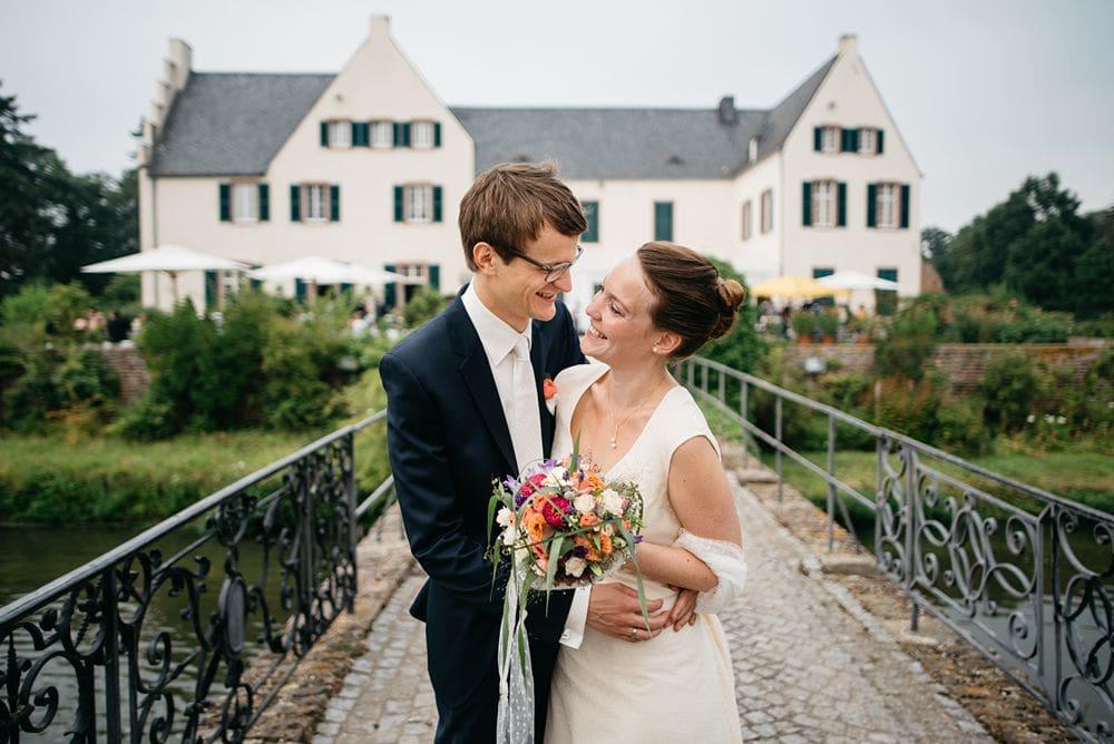 Hochzeitsfotos in der Burg Heimerzheim