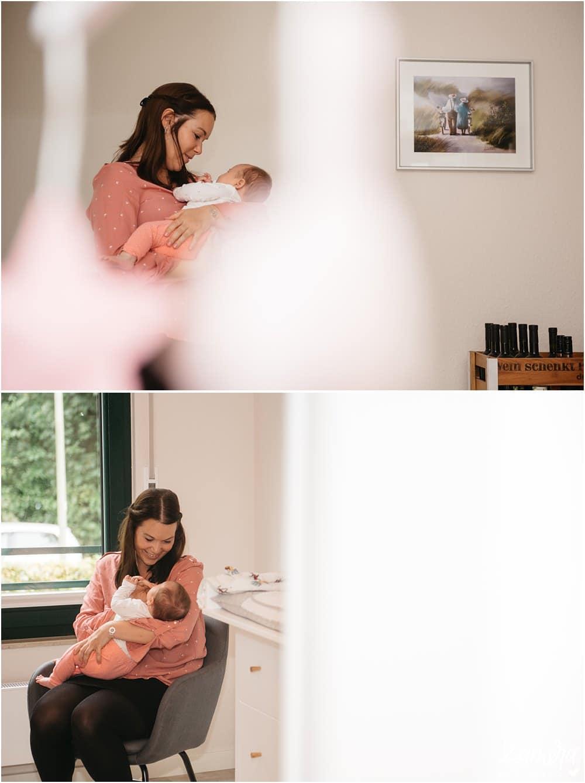 Homestory Mama und Baby