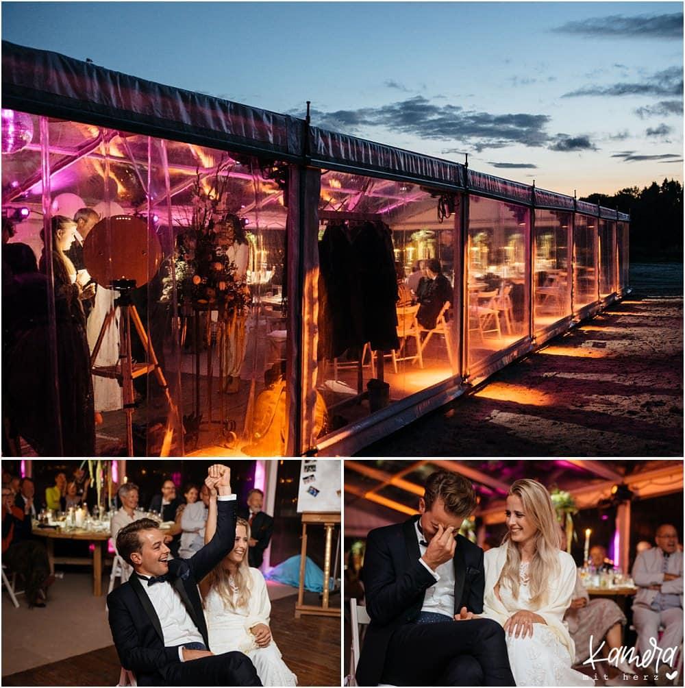 Hochzeitsfeier auf Gut Bärbroich in Bergisch Gladbach