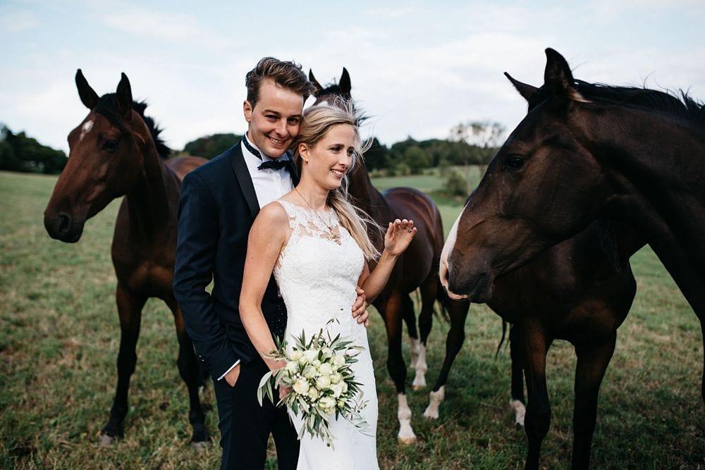 Hochzeit auf Reitanlage Gut Bärbroich