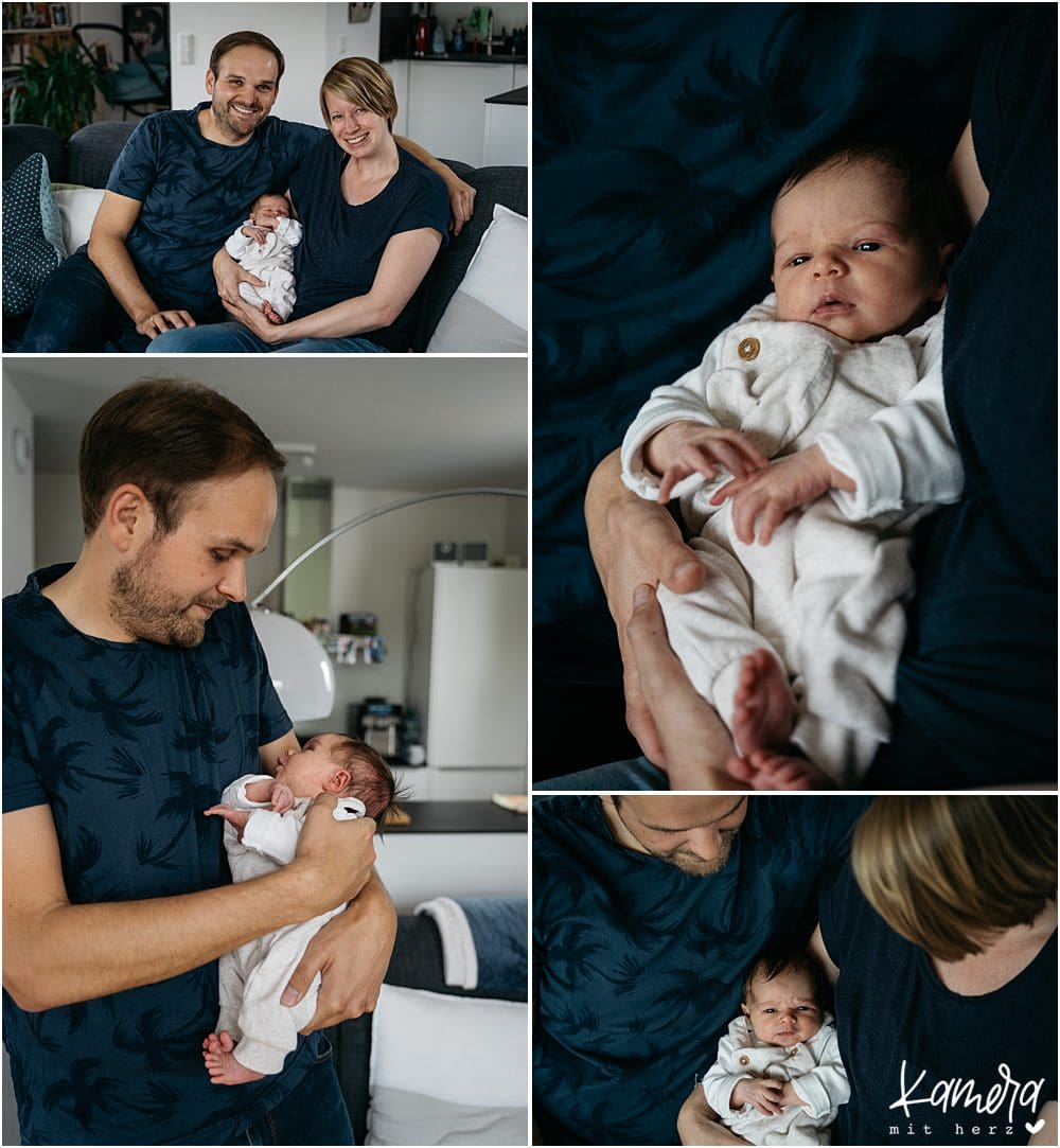 Familienshooting zuhause