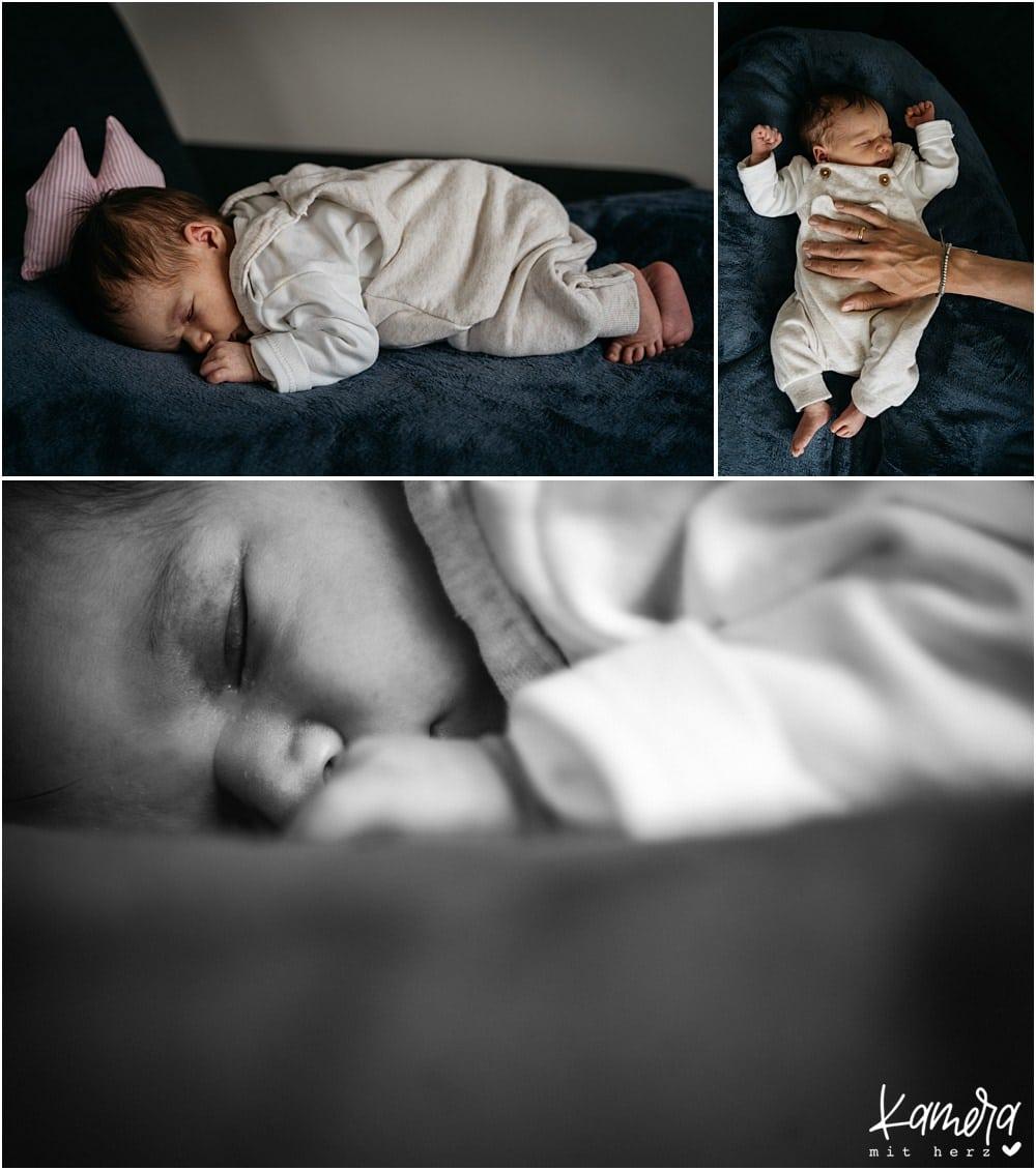 Babyshooting Zuhause Fotograf