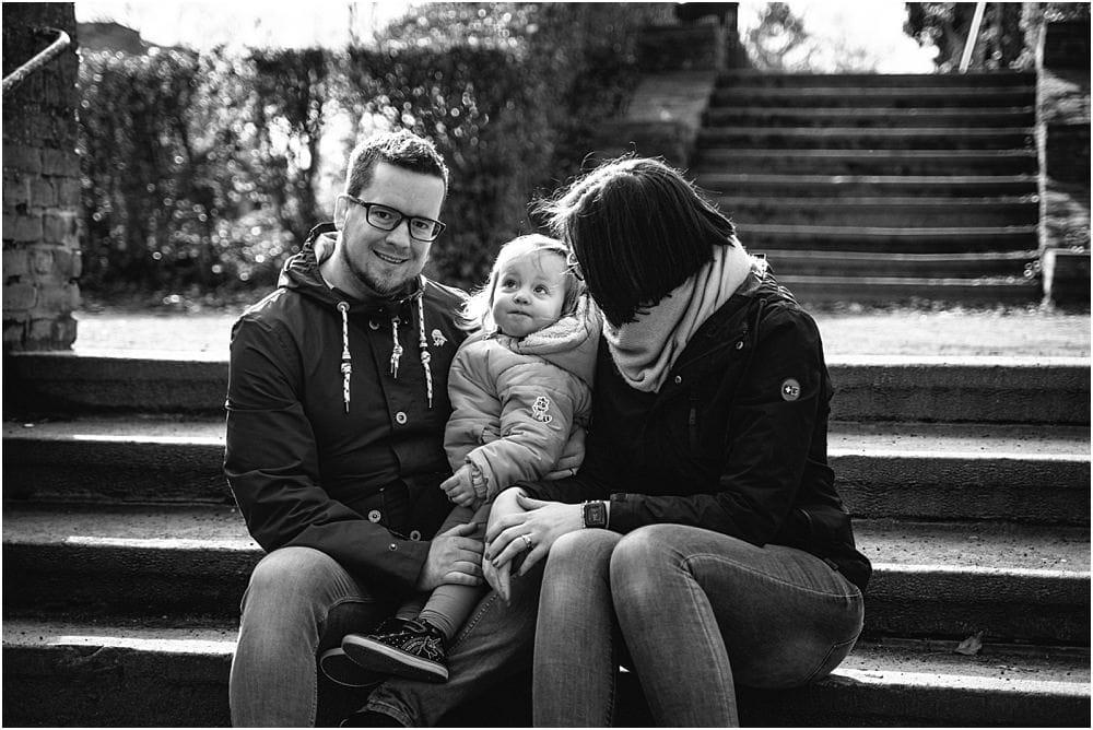 Familienshooting im Winter