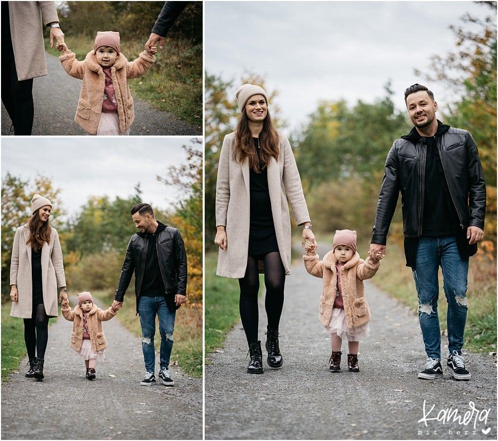 Familienshooting im Herbst