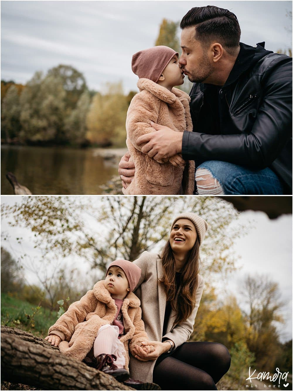 Familienfotos im Herbst in Köln