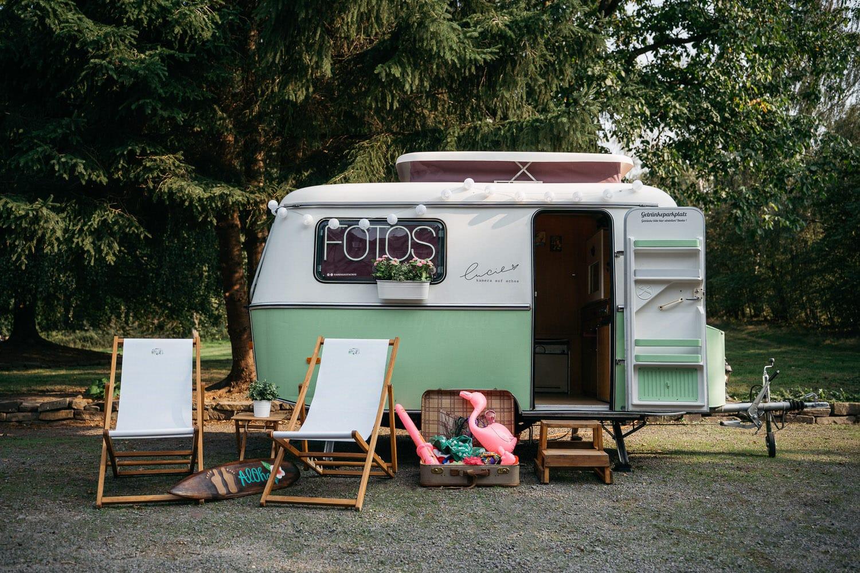Unsere Lucie! Die mobile Fotobox im Wohnwagen