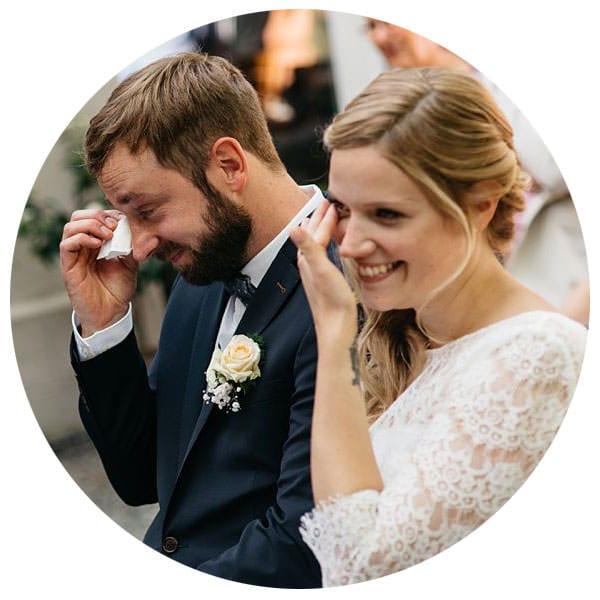 emotionale und authentische Hochzeitsfotos in Köln, Bonn & NRW