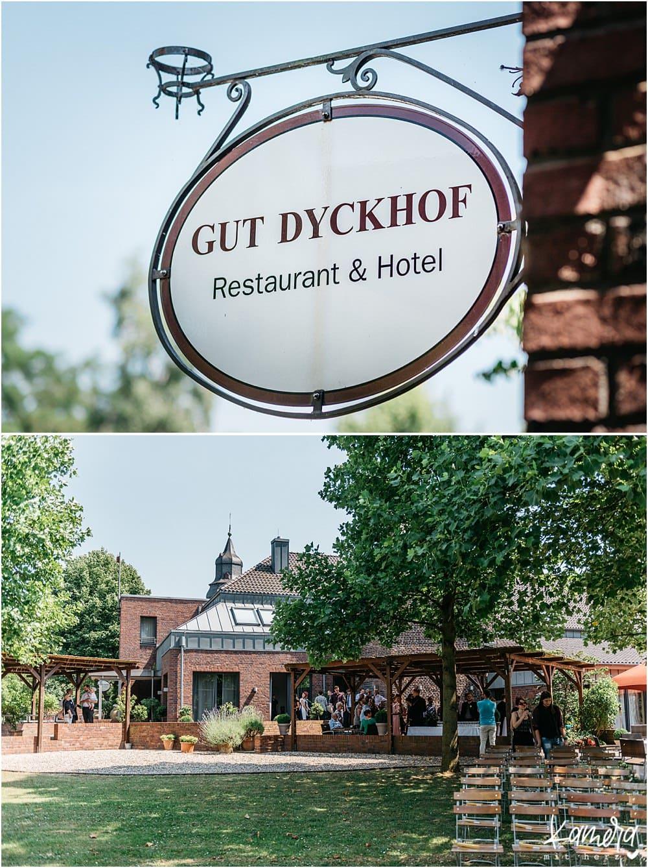 Gut Dyckhof in Meerbusch Location
