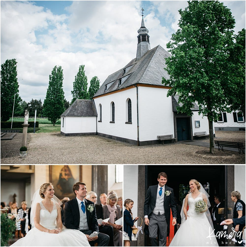Gut Dyckhof in Meerbusch Kirchliche Trauung