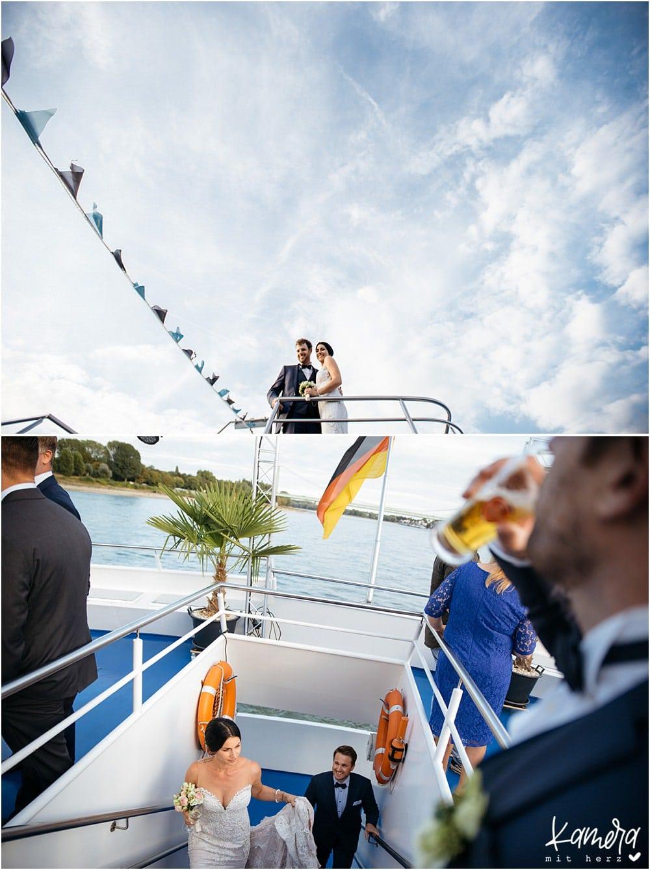 Standesamtliche Trauung auf der MS Rhein Cargo