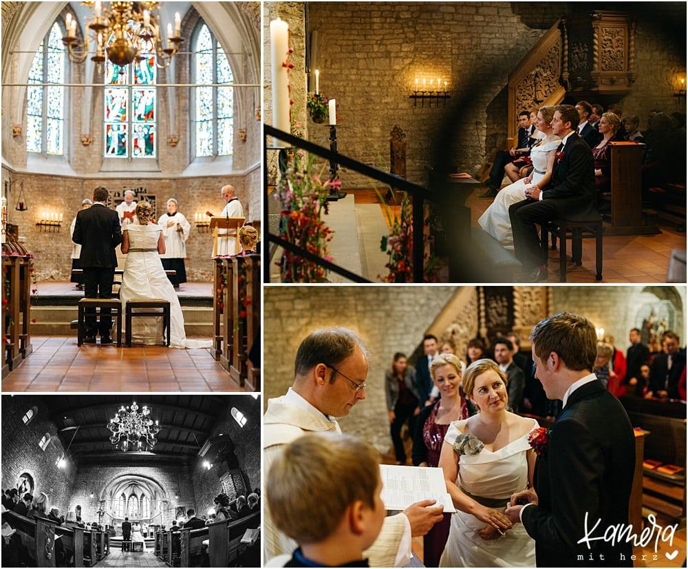Kirchliche Trauung Kleve und Hochzeitsfeier im Hof Ten Berge - Trauung