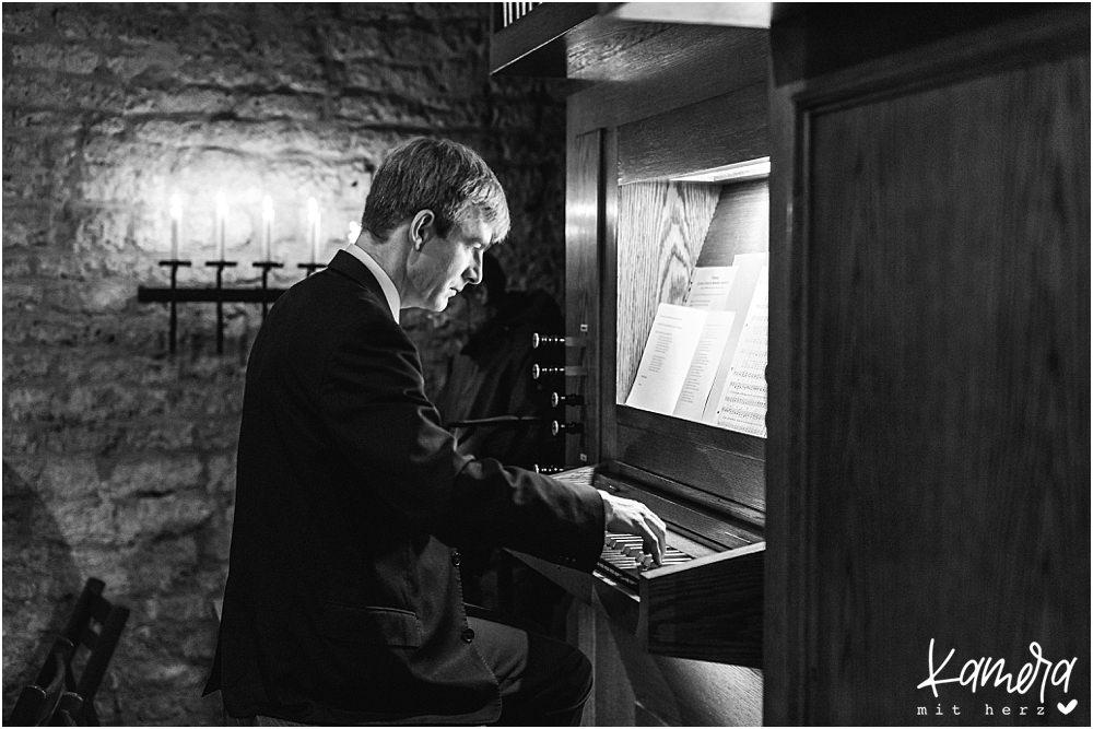 Kirchliche Trauung Kleve und Hochzeitsfeier im Hof Ten Berge - Orgel