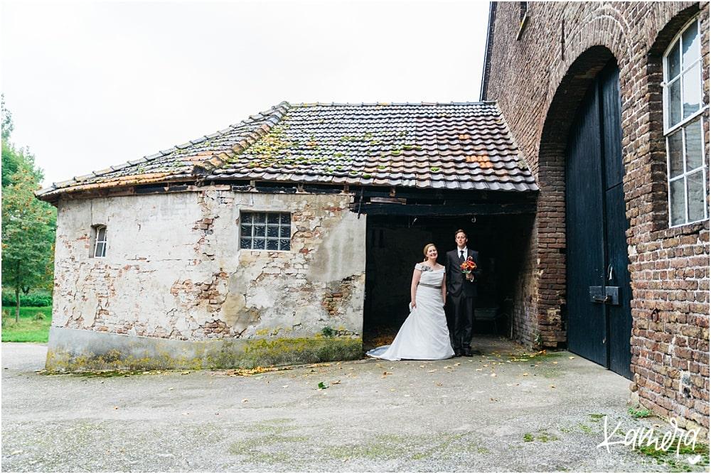 Kirchliche Trauung Kleve und Hochzeitsfeier im Hof Ten Berge - Paarshooting