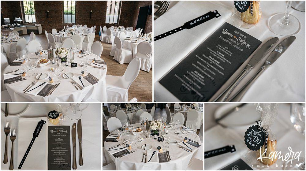 Hochzeit im Kastanienhof in Köln - Stiftungssaal
