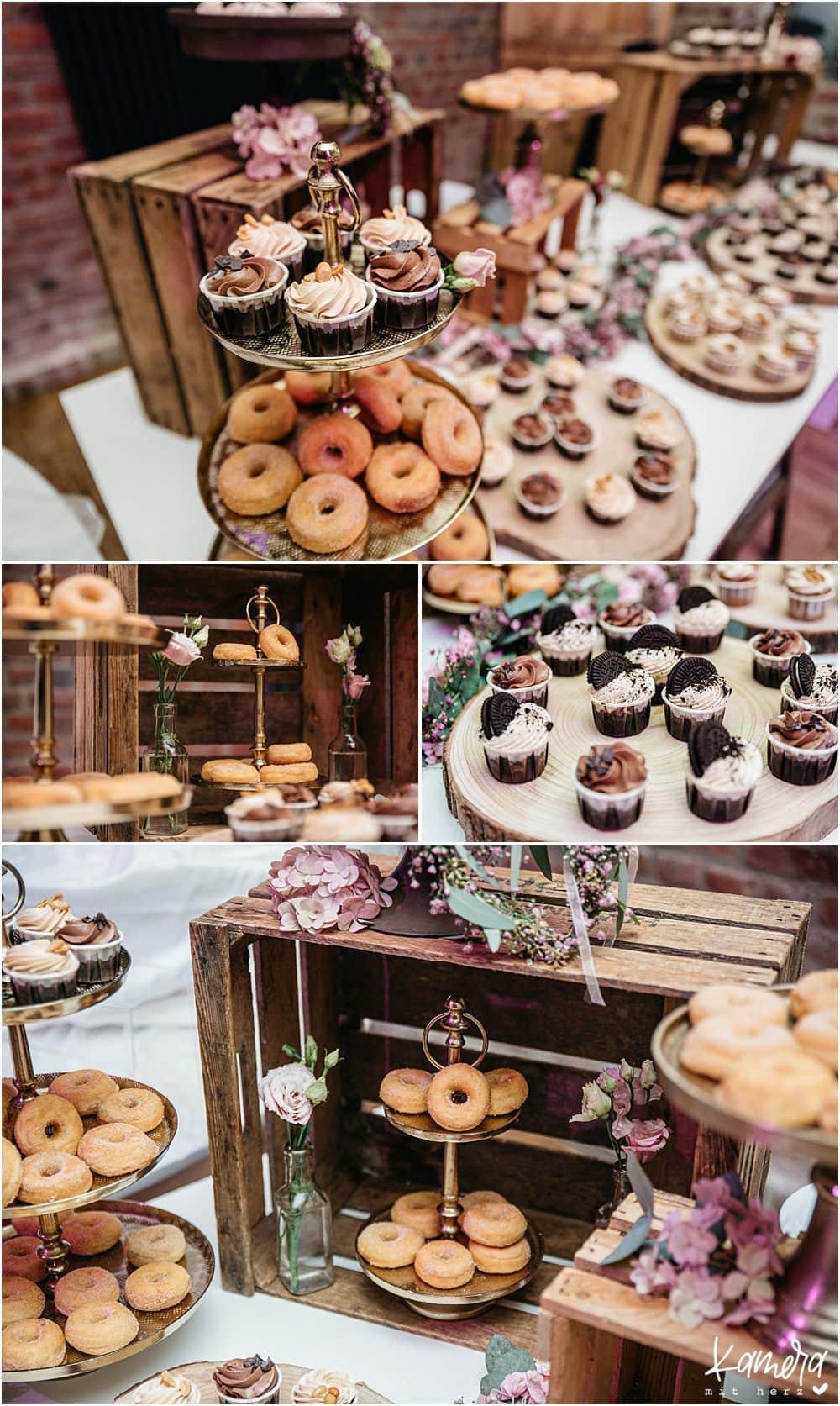 Hochzeit im Kastanienhof in Köln - Desserbuffet