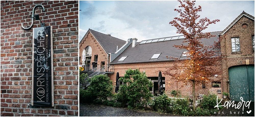Der Kornspeicher in Krefeld Hüls - eine tolle Hochzeitslocation