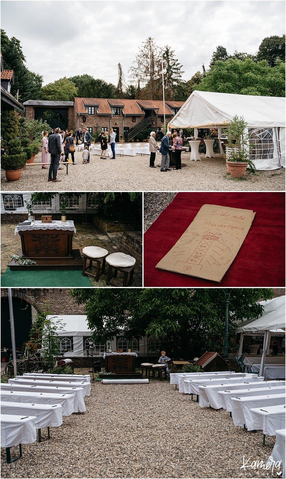 Hochzeitslocation Nüssenberger Hof - freie Trauung