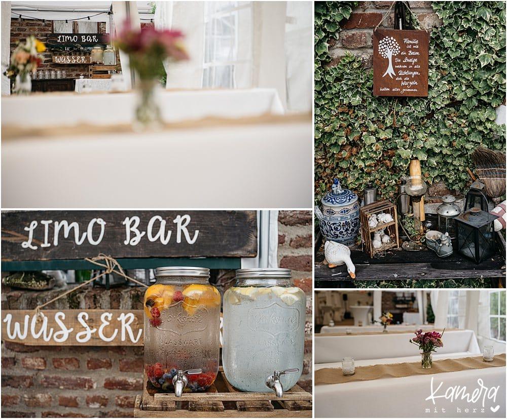 Hochzeitslocation Nüssenberger Hof - Limo Bar