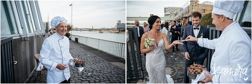 Pralinenempfang Hochzeit